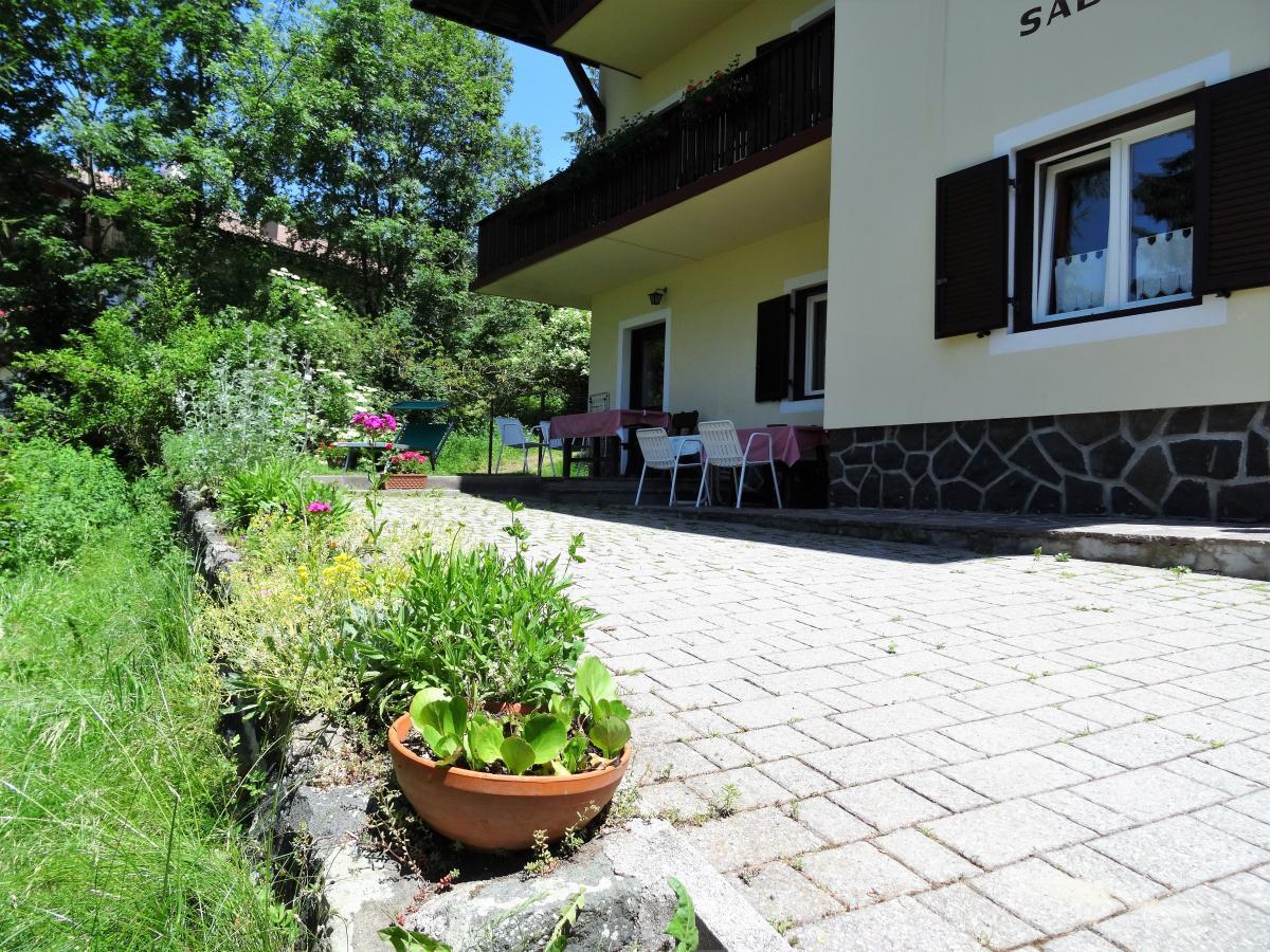 Terrasse Wohnung Hilde Haus Sabina