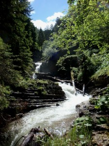 Geologensteig Wasserfall